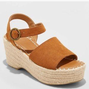 Wedge Pump Sandals